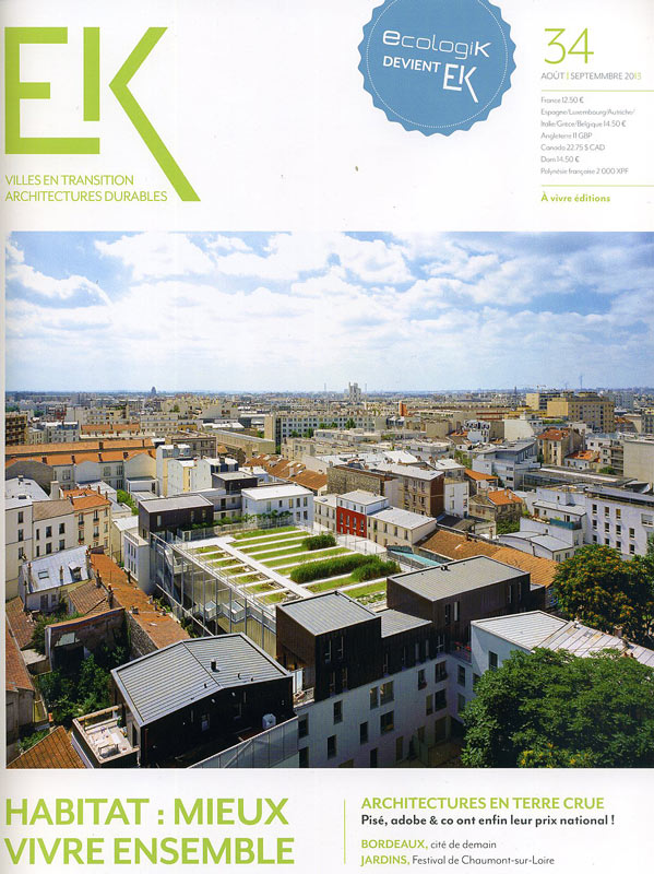 Ek ville architecture durable documentation du caue de l for Architecture durable